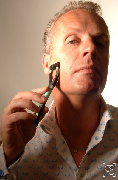 WILL KING, OWNER OF KING OF SHAVES BASED IN CHESHAM, BUCKINGHAMSHIRE WITH THE NEW