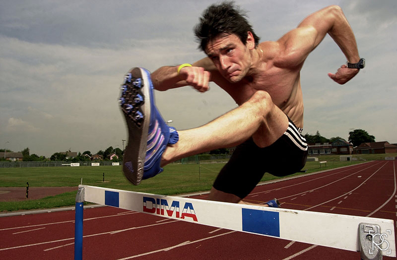 DOMINIC GIRDLER IS A HURDLER STUDING AT LOUGHBOROUGH UNIVERSITY.©RUSSELL SACH - 0771 882 6138